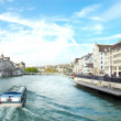 Royalty-Free Stock Photo: Limmat river, Zurich, Switzerland