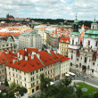 Panoramic view on Prague — Stock Photo