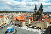 View on Old Town Square in Prague, Czech Republic — Stock Photo