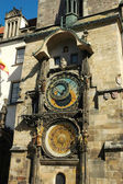 Old astronomical clock in Prague, Czech Republic — Zdjęcie stockowe