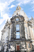 The famous Frauenkirche (Church of Our Lady) in Dresden, Germany — Zdjęcie stockowe