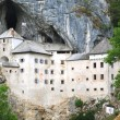 Stock Photo: PredjamCastle in Postojna, Slovenia