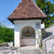 Small chapel at the staircase leading to the Pilgrimage Church o — Foto de Stock