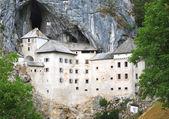 Predjama Castle in Postojna, Slovenia — Stock Photo