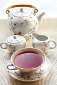 Tea set — Stock Photo