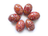 Pysanky - Ukrainian handmade painted Easter eggs — Stockfoto