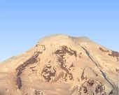 Vector de montaña — Vector de stock