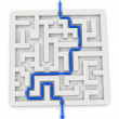 Maze and solution — Stock Photo #19785667