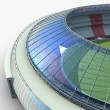 Sport arena. stadium 3d illustration - Stock Photo