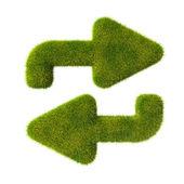 трава стрелы в цикле — Стоковое фото