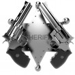 Revolver gun — Stock Photo