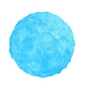 Ice sphere isolated on white background — Stock Photo