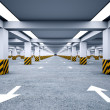 Underground parking without cars. — Stock Photo #33269939
