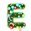 Cristmas alphabet letter — Stock Photo #35226377