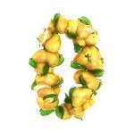 Pear symbols 0 on white background — Stock Photo #43389049