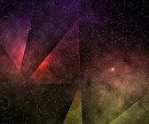 Abstract Space Background — Stock Photo