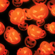 Royalty-Free Stock Photo: Halloween Evil Pumpkin Background