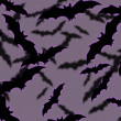 Bats Halloween Background — Stock Photo