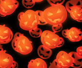 Halloween Evil Pumpkin Background — Stock Photo