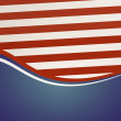 Stock Photo: AmericIndependence Day Old Background