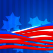 Stock Photo: AmericIndependence Day Abstract Background
