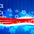 American Independence Day Background — Stock Photo