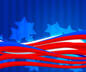American Independence Day Abstract Background — Stock Photo