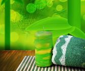Yeşil spa arka plan — Stok fotoğraf