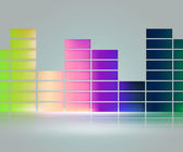 Equalizer Music Background — Stock Photo