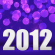 2012 Violet New Year Background Stage — Stok fotoğraf