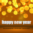 Golden Happy New Year Background Stage — Stock Photo #13826940