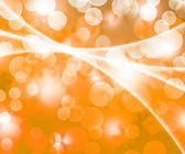 Gold Winter Bokeh Background — 图库照片