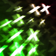 Stock Photo: Green XXX Abstract Background