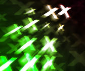 Green XXX Abstract Background — Stock Photo