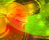 Orange Flashing Abstract Background — Stock Photo