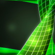 Future Green Abstract Texture Background - Foto de Stock