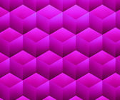 Violet Abstract Cubes Background — Stock Photo