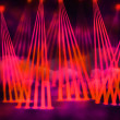 Red Laser Stage Background — Stock Photo