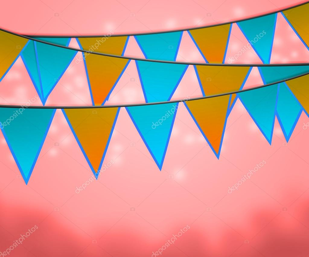 Carnival Flags Background — Stock Photo #15736585