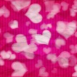 Pink Valentine Background — Stock Photo