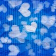 Blue Valentine Background — Stock Photo