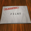 Stock Photo: Classified Files on Table