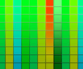 Green Squares Texture Background — Stock Photo