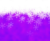 Violet Abstract Snow Background — Stock Photo