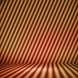Orange Striped Background Show Room — Stock Photo #17453535