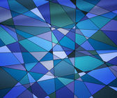 Blue Stained Glass Texture — Stock Photo