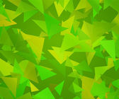 Green Triangle Abstract Background — Stock Photo