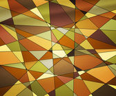 橙色彩绘玻璃纹理 — 图库照片