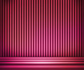 Violet Striped Background Show Room — Stock fotografie