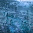 Blue Grunge Urban Wall Background — Stock Photo #18076657